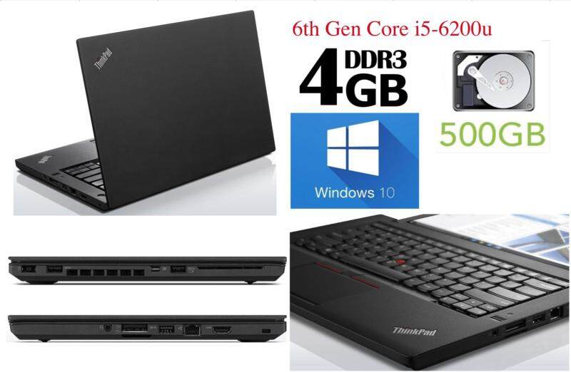 Lenovo Thinkpad T460 Used Laptop Gen 6th i5 Win 10 (Refurbished) Malaysia