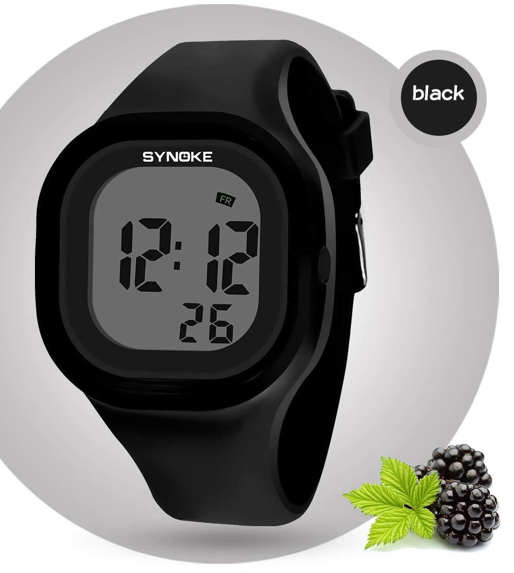 SYNOKE Brand Watch Sport Watches Timer LED Black Light Digital Wristwatches 30M Waterproof Alarm Clock 66896 Malaysia
