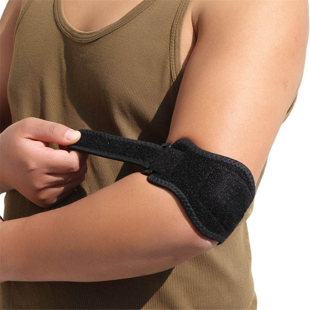 Outdoor Sports Elbow Support Brace Pad Injury Aid Strap Guard Wrap Band By Grubbstore.