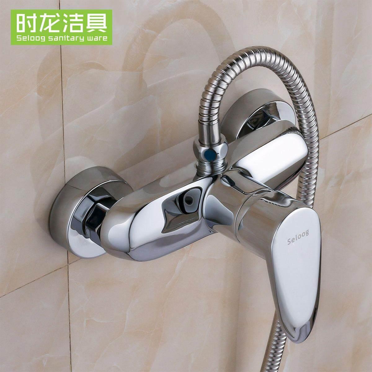 Seloog Running the Copper Body Shower Faucet Tub Leading Hose-Shower Faucet Shower