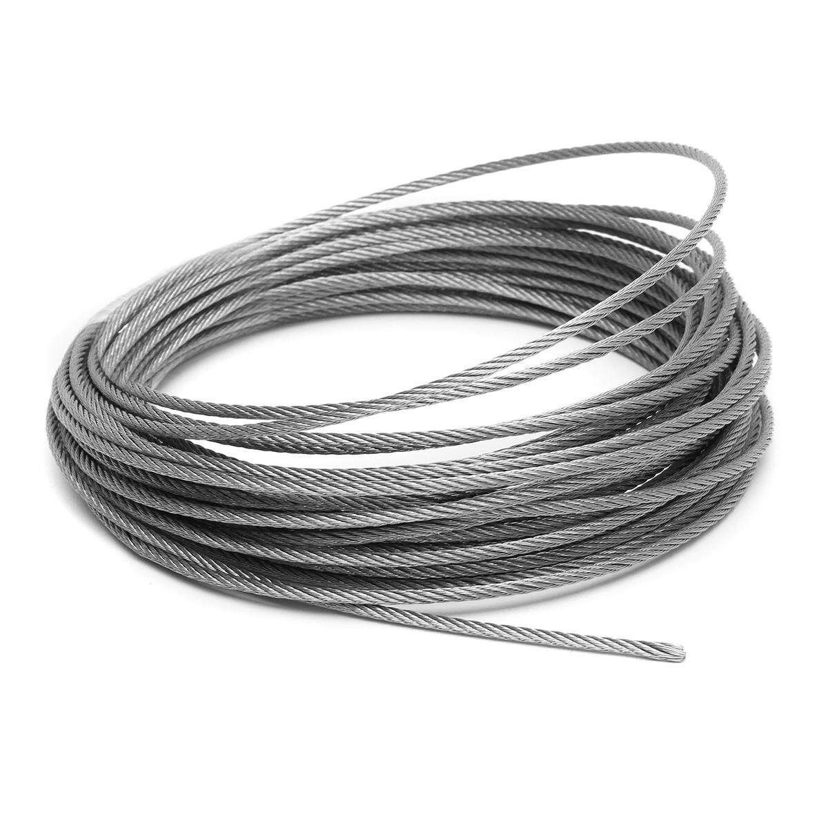 Stainless Steel Wire Rope Tensile Diameter 4mm Structure Cable
