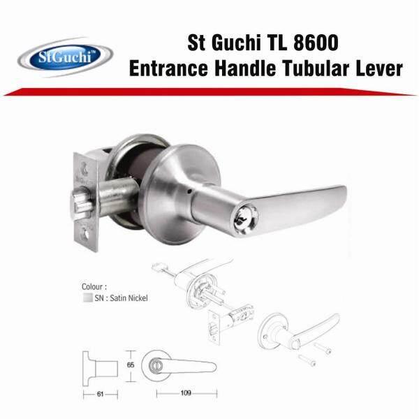 St Guchi Original 8600SN Heavy Duty Tubular Lock Set SGTL8600