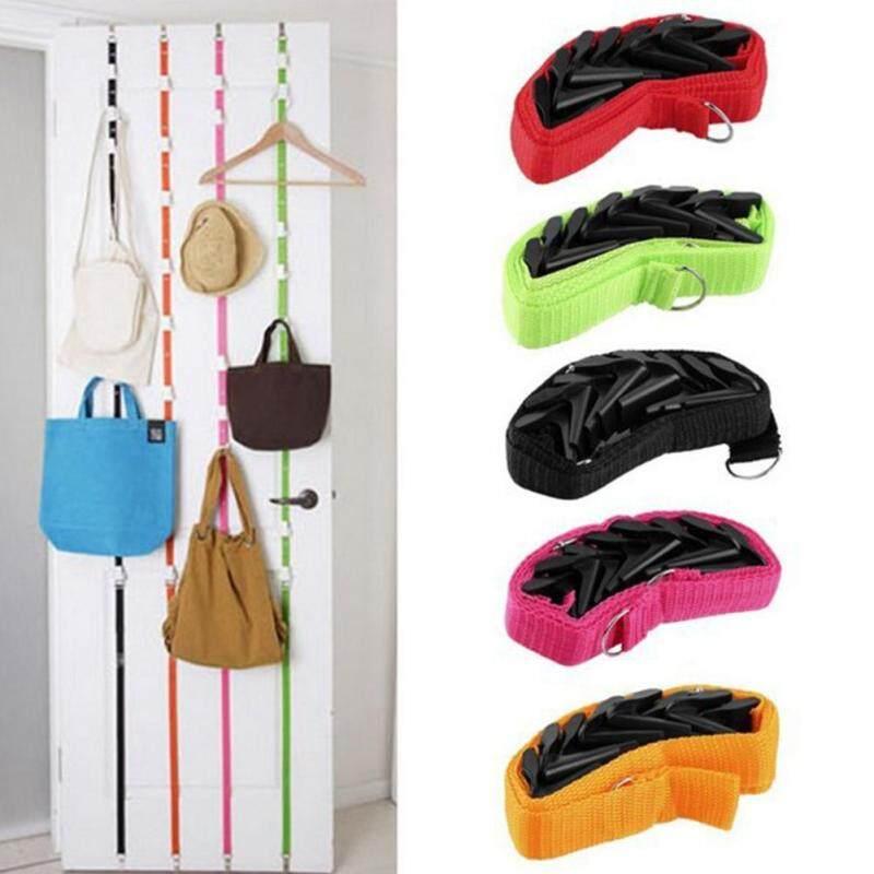 Adjustable Door Straps Hanger Hooks Creative Hat Bag Organizer for Closet
