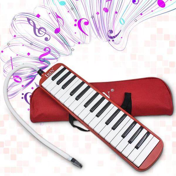 IRIN 32 Key Melodica Keyboard Mouth Organ with Pag for School Student - Malaysia