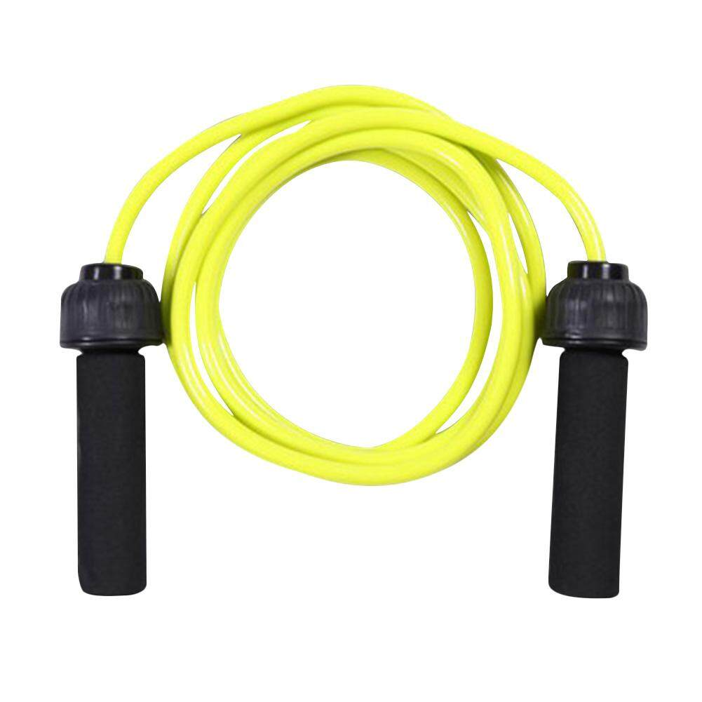 Adjustable No Kinks Speed Jump Rope with Foam Handle for Aerobic Exercise  Fitness Weight Lose