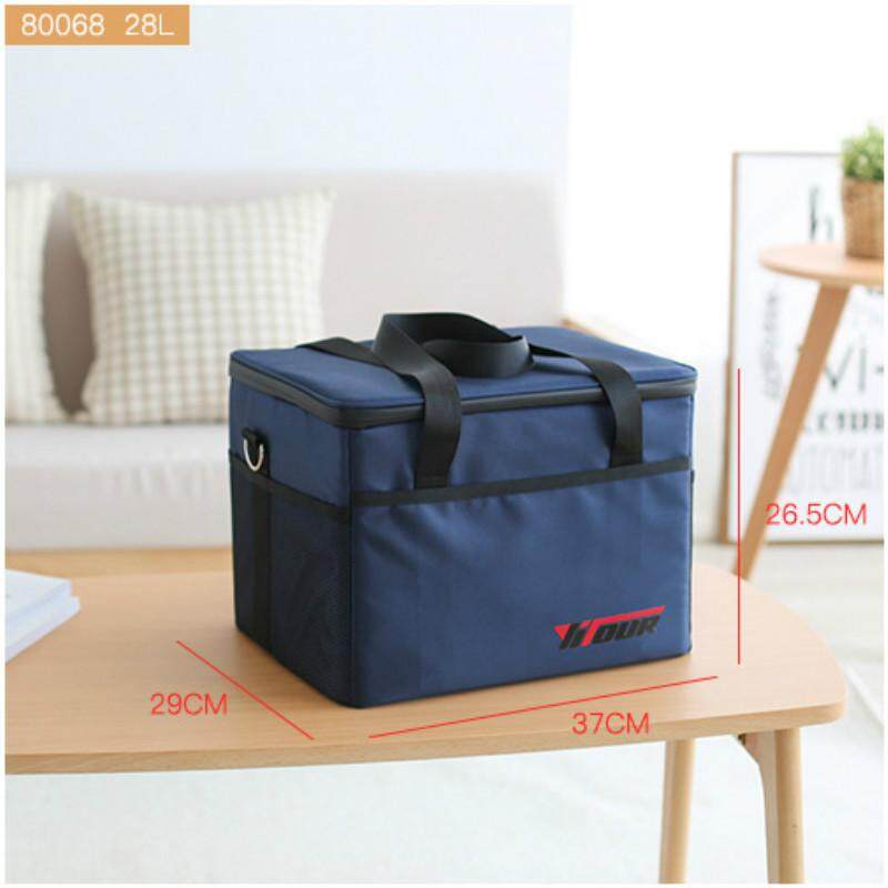 Aluminum Foil Cooler Lunch Thermal Insulation Lunch Tote Picnic Food Bag S