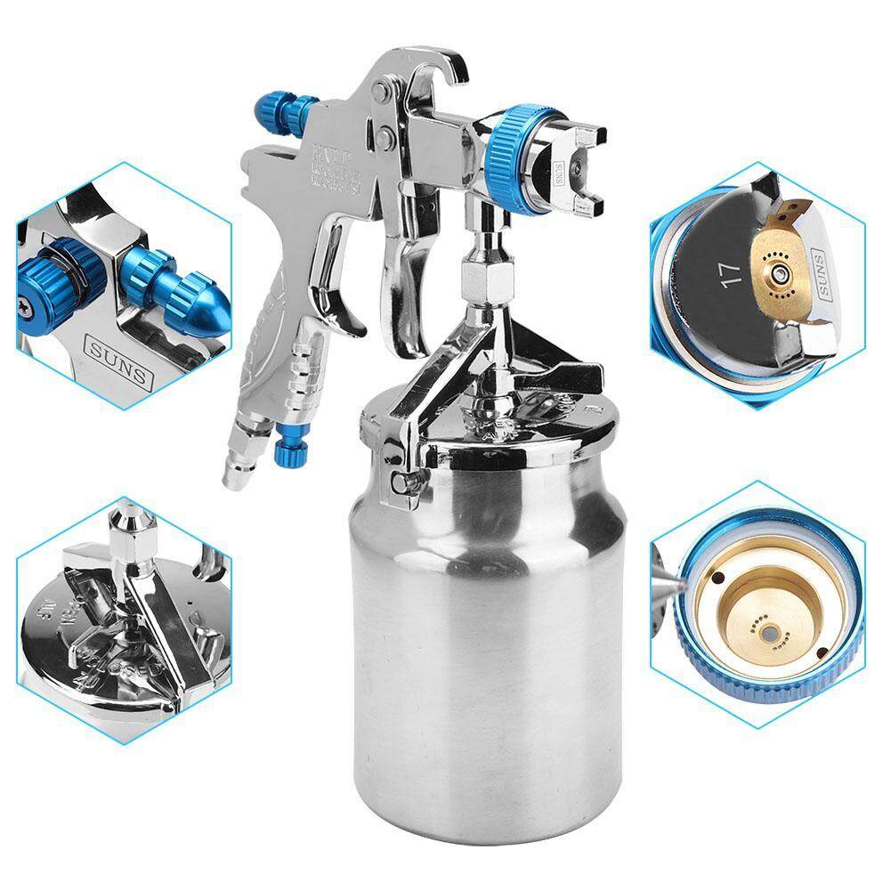 【Time-limited Promotions】1.7mm Nozzle Bottom Feeding Mode Air Paint HVLP Spray Pneumatic Tool
