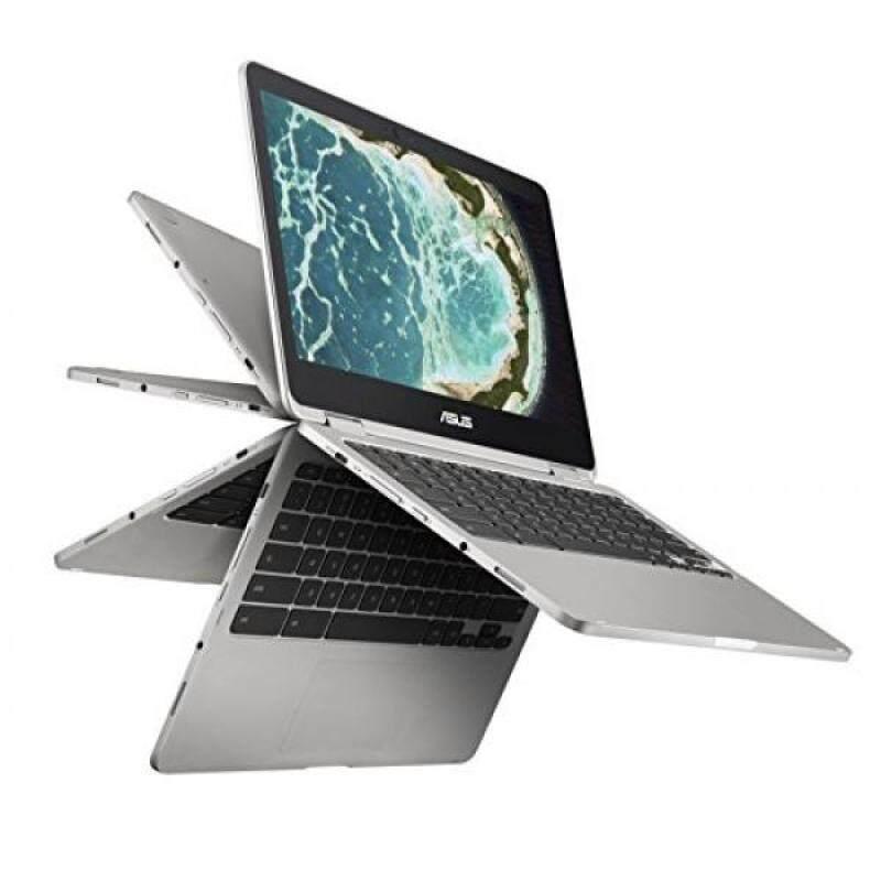 ASUS C302CA-DHM4 Chromebook Flip 12.5-inch Touchscreen Convertible Chromebook, Intel Core m3, 4GB RAM, 64GB Flash Storage, All-Metal Body, USB Type C, Corning Gorilla Glass, Chrome OS Malaysia