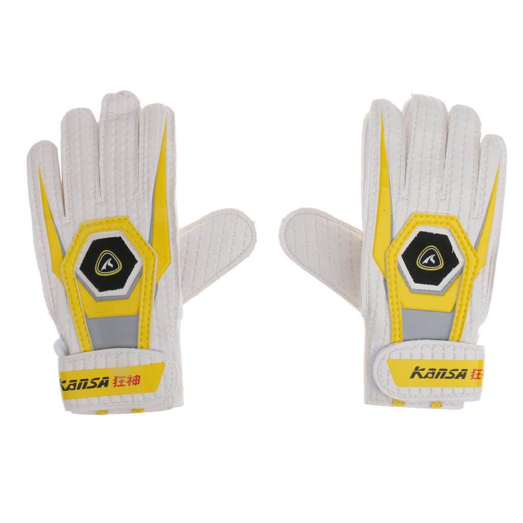 Flameer Adjustable Soccer Football Goalkeeper Gloves Latex Protective Equipment By Flameer.