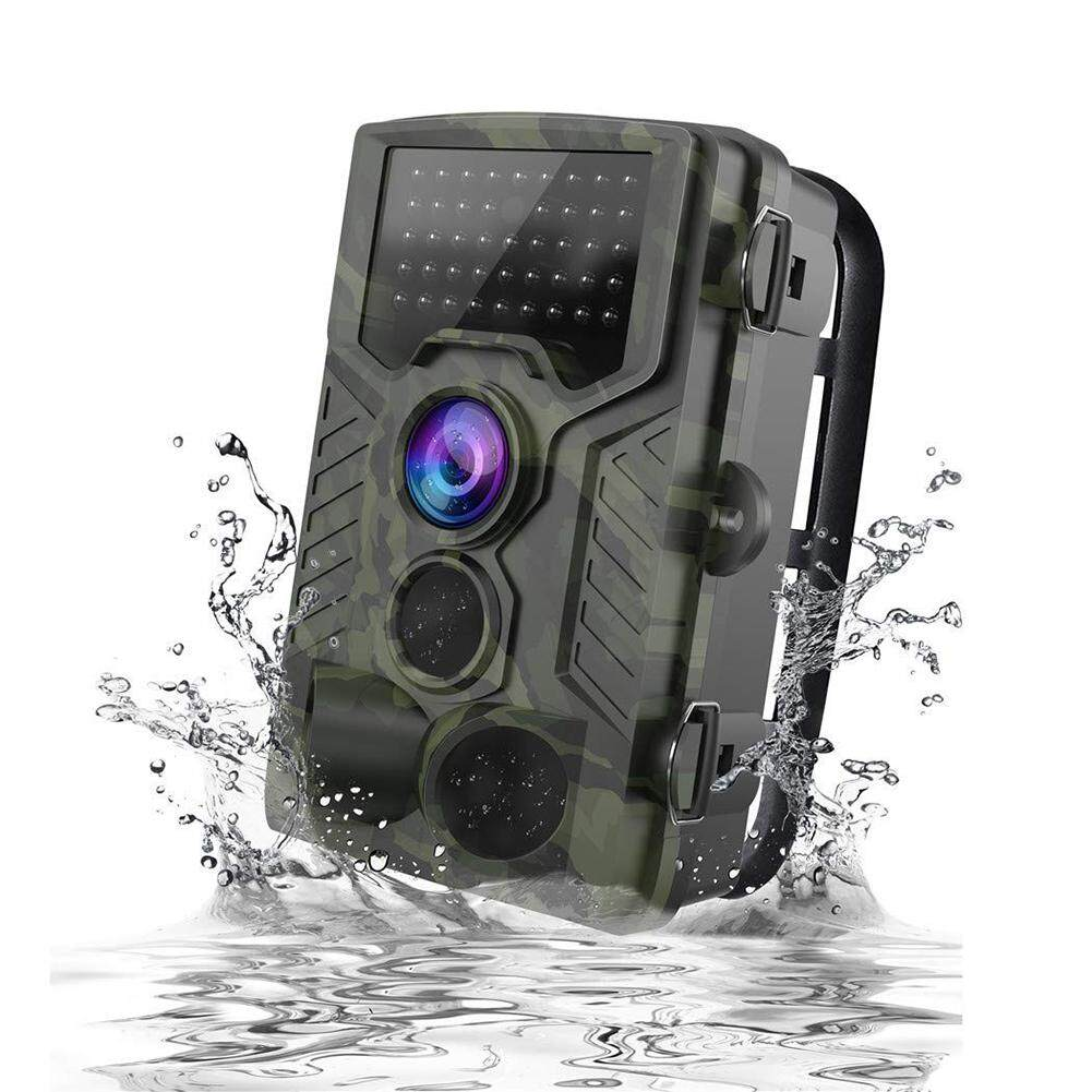 Hossen 1080P HD Wildlife Trail Hunting Camera with Motion Activated Night Vision 120° Wide Angle