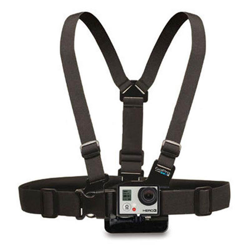 New Gopro Adjustable Chest Body Harness Accessories Belt Strap Mount For Gopro Hero 5 Support All Action Sports Camera By Liisshop.
