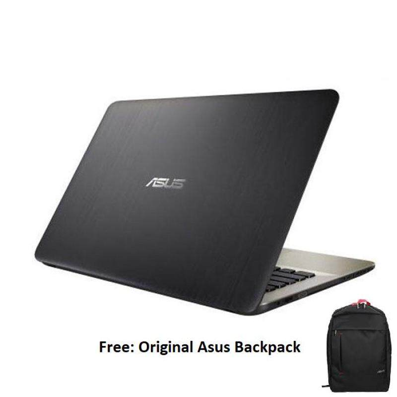 Asus Vivobook Max X441M-AGA041T (Celeron N4000 (1.1GHz), 4GB DDR4, 500GB, 14 HD, Win 10, 1.75 kg, Black, 1 Year Warranty by Asus) Malaysia