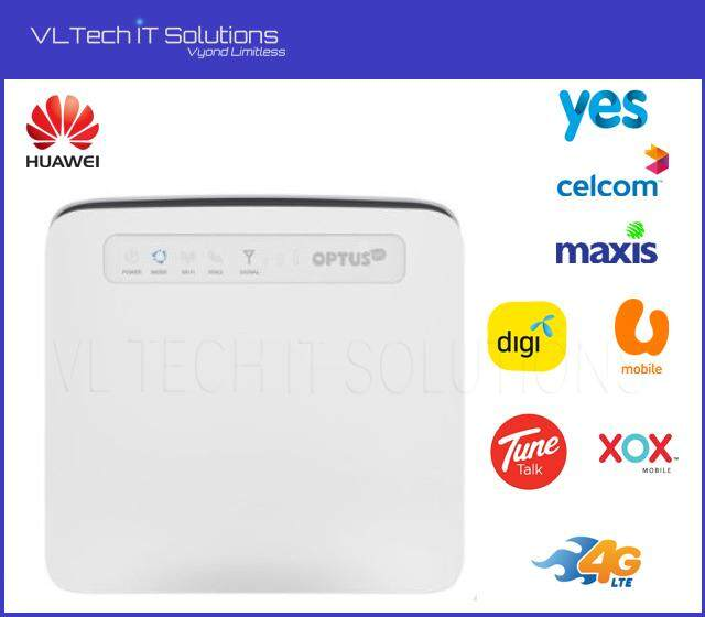New Huawei E5186 4G LTE Highspeed CAT6 300M Home Office Wireless Modem  Router with Simcard Slot