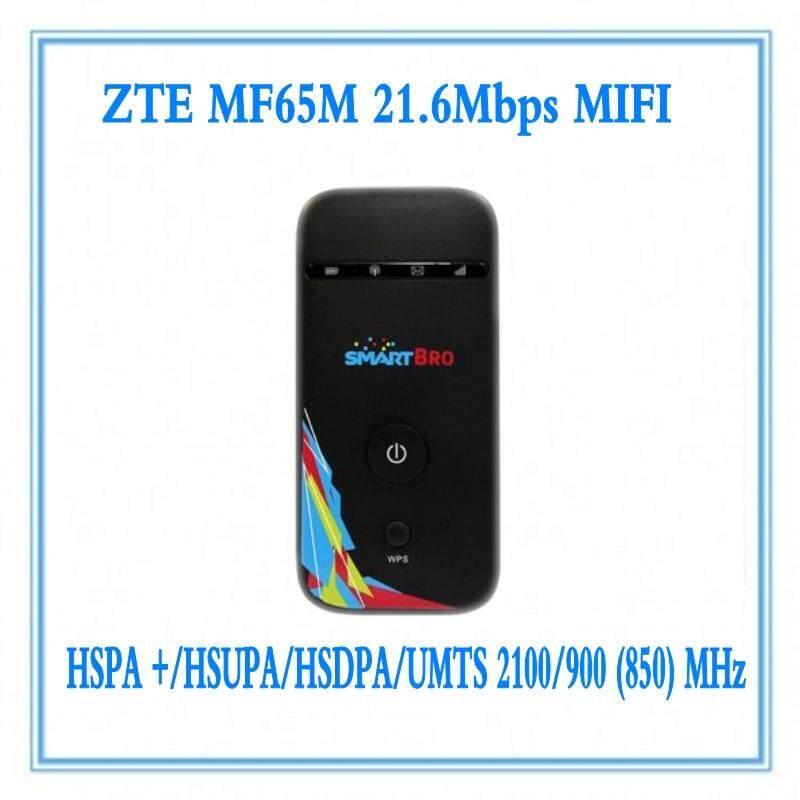 Original Unlocked New ZTE MF65 HSPA+ 21.6Mbps 3G Wireless Router 3G UMTS 2100MHz Mobile Pocket WIFI Broadband 3G SIM Card Mifi R