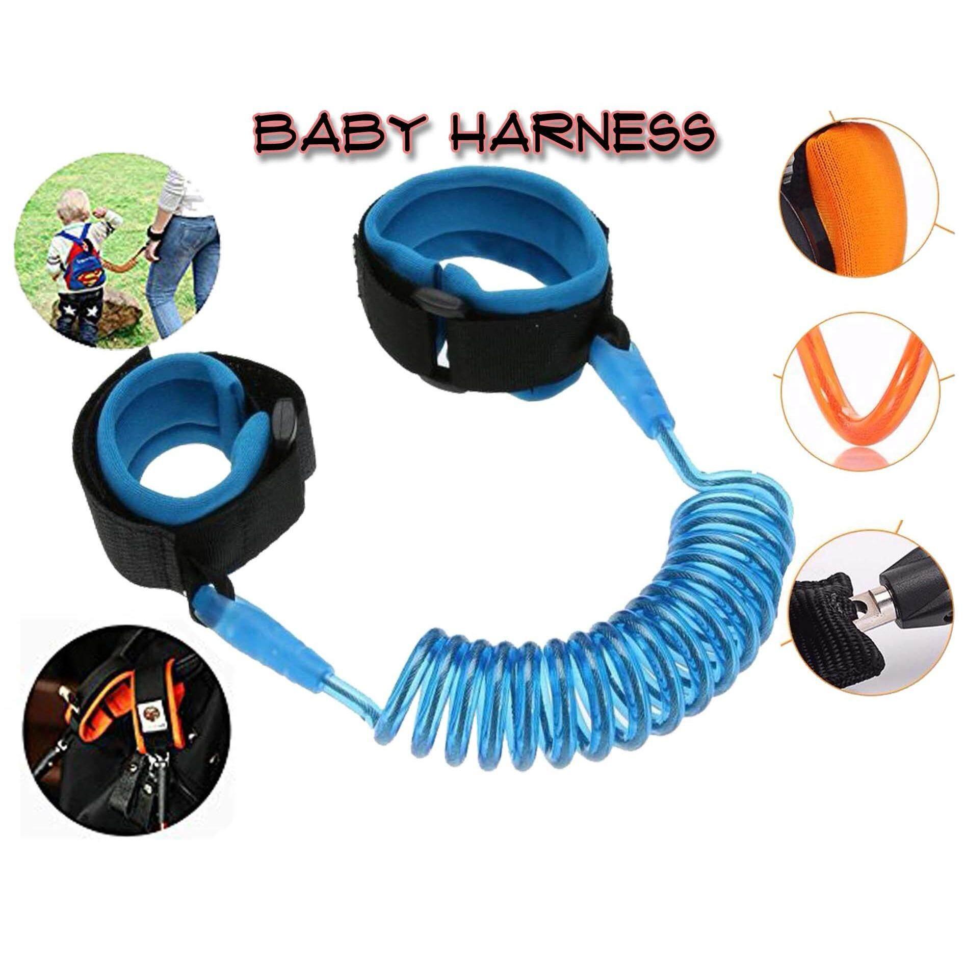 Adjustable Kids Safety Anti Lost 1.5m Wrist Band/ Harness/ Leash Strap