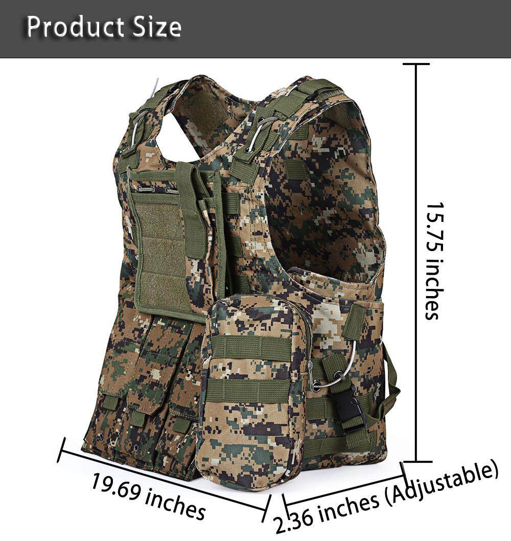 Military Tactical Vest Molle Combat Assault Plate Carrier Tactical Vest Cs Outdoor Vest By Wenzhou Tall Luggage Manufacturing Co Ltd.