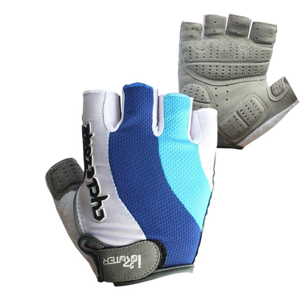 EXtra Gel Bike Half Finger Cycling Gloves Short Bicycle Biking Riding Gloves