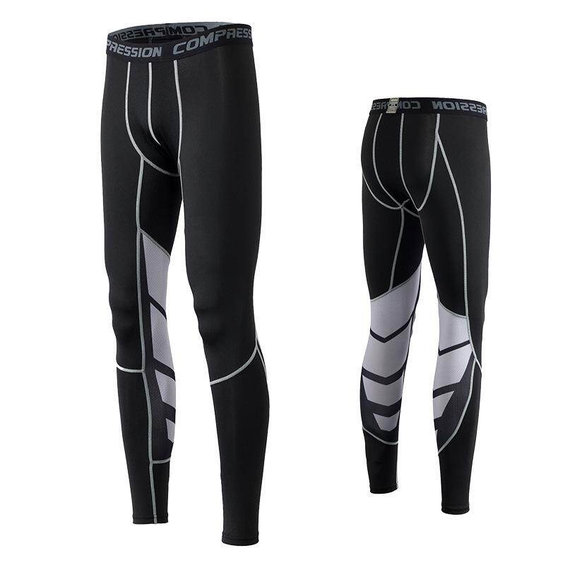 7ebabc1790571 FSDZ Men Compression Pants Gym Fitness Sports Running Leggings Tights  Quick-drying Fit Training Jogging