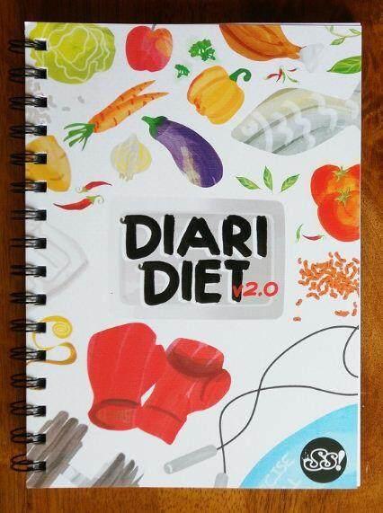 Planner Diari Diet 2.0 By Bukuonline.