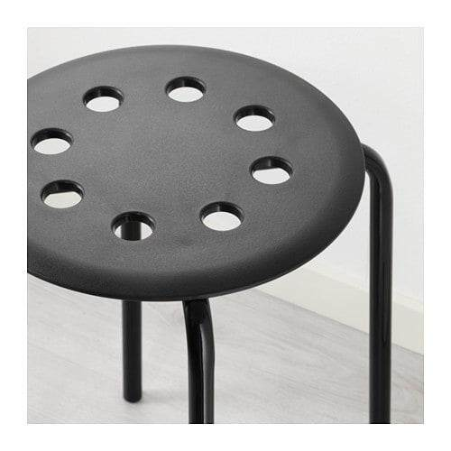 Ready Stock Ikea Marius Stool Indoor/outdoor By Zebcloud.