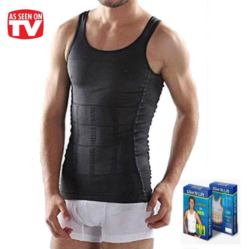 Virene 【100% Original】 Ready Stock Original Slim N Lift Body Shaper Men Body Shaper Slimming Vest Singlet Malaysia Shapewear Wholesale 219186c By Virene Collection.