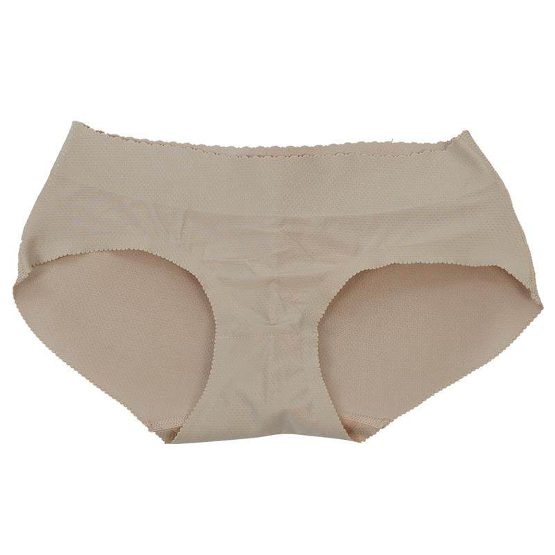 d7f488a864 Sexy Panty Knickers Buttock Backside Bum Padded Butt Enhancer Hip Up -  XL(Flesh color