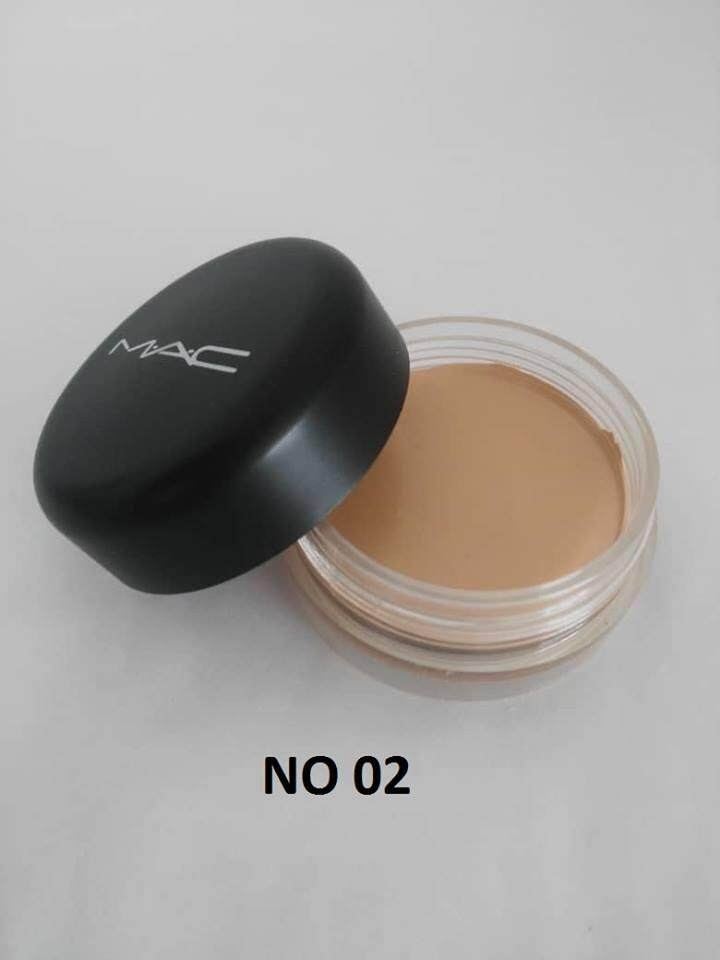 MAC SOFT MATTE COMPLETE CONCEALER ANTI SPOT CORRECTOR WITH FREE SPONGE No. 02
