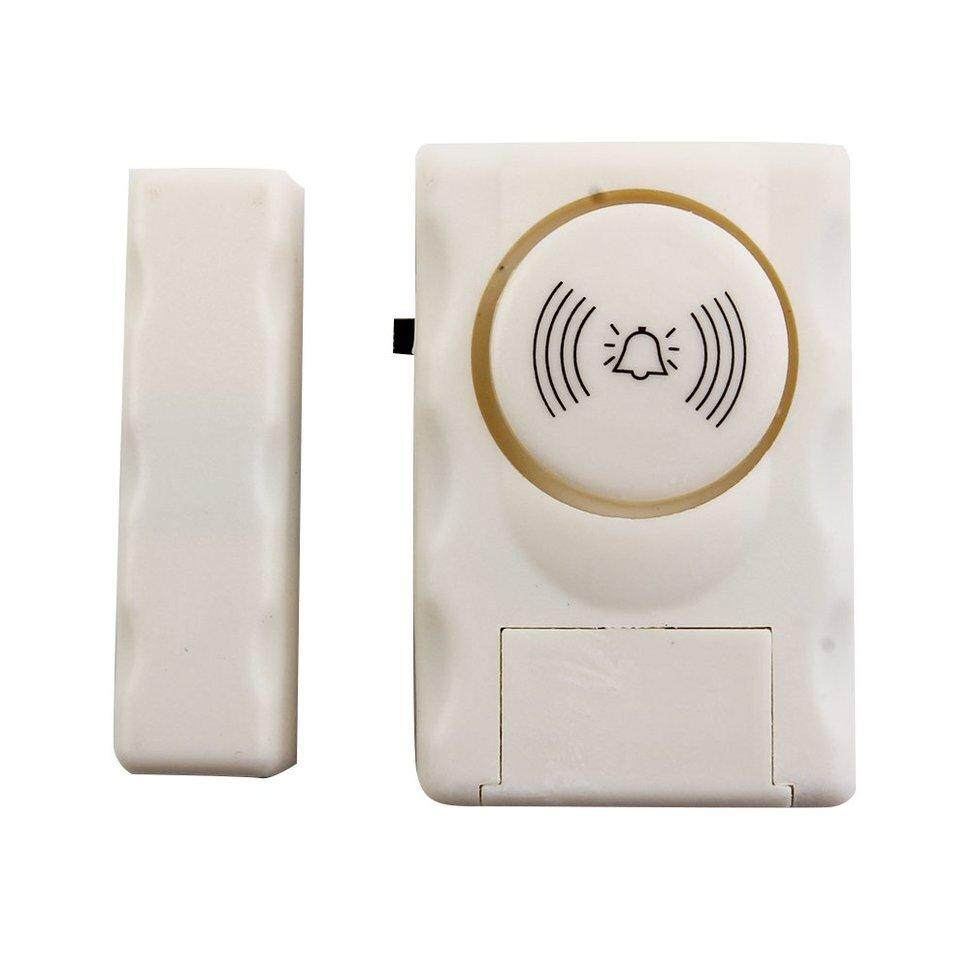 GOFT Super Loud Decibel Wireless Anti Lost Alarm Device Home Door Window SecurityWhite