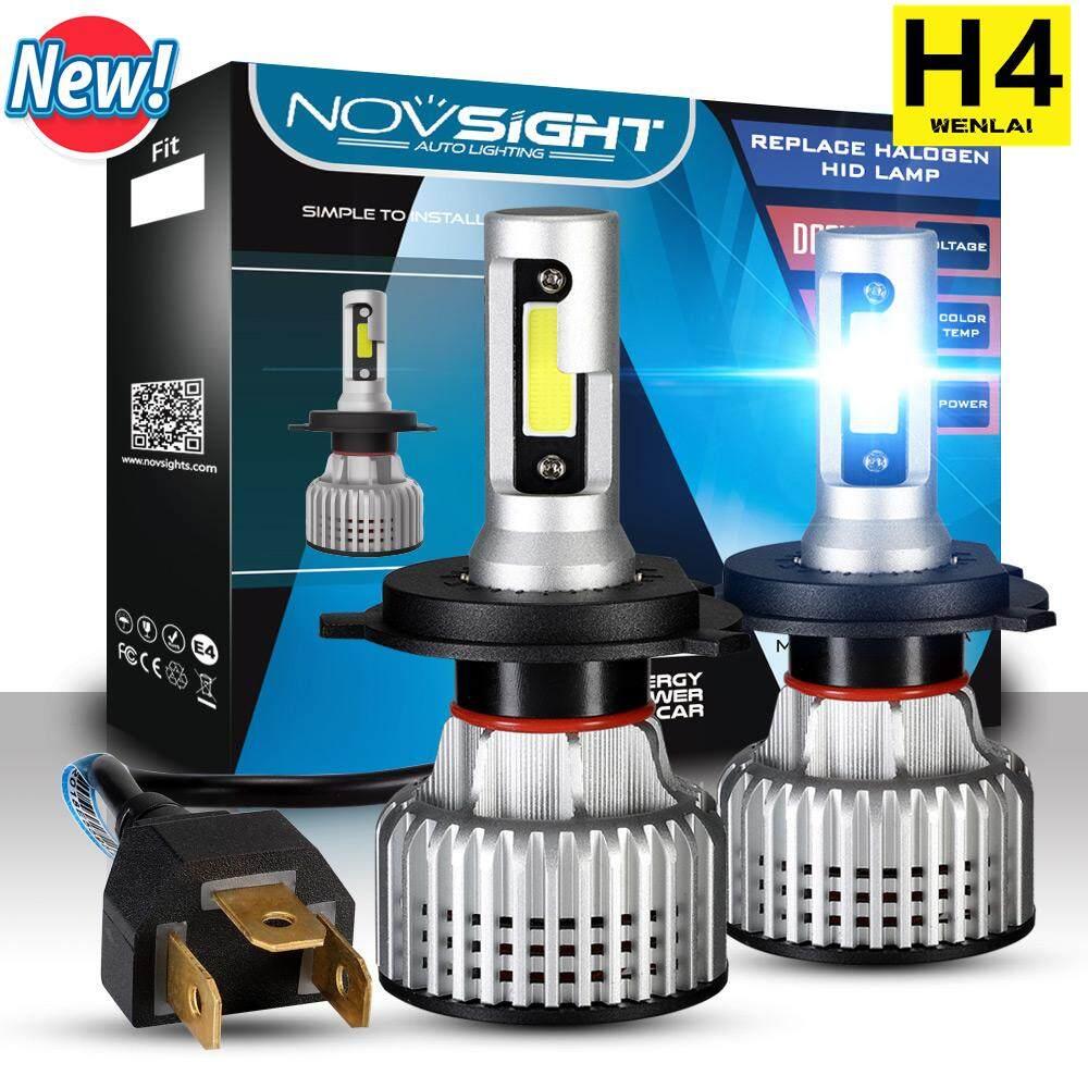 Automotive Accessories 5 Buy At Best Wiring Fog Lamp Saga Flx Novsight New H4 Car Light Bulb 10000lm Headlight Led 6500k Ip68 2pcs