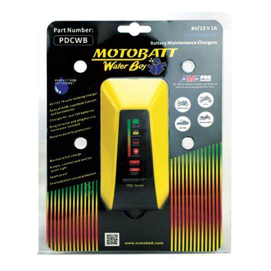Motobatt Pdc Series Water Boy Battery Charger By Pj Wah Accesories.
