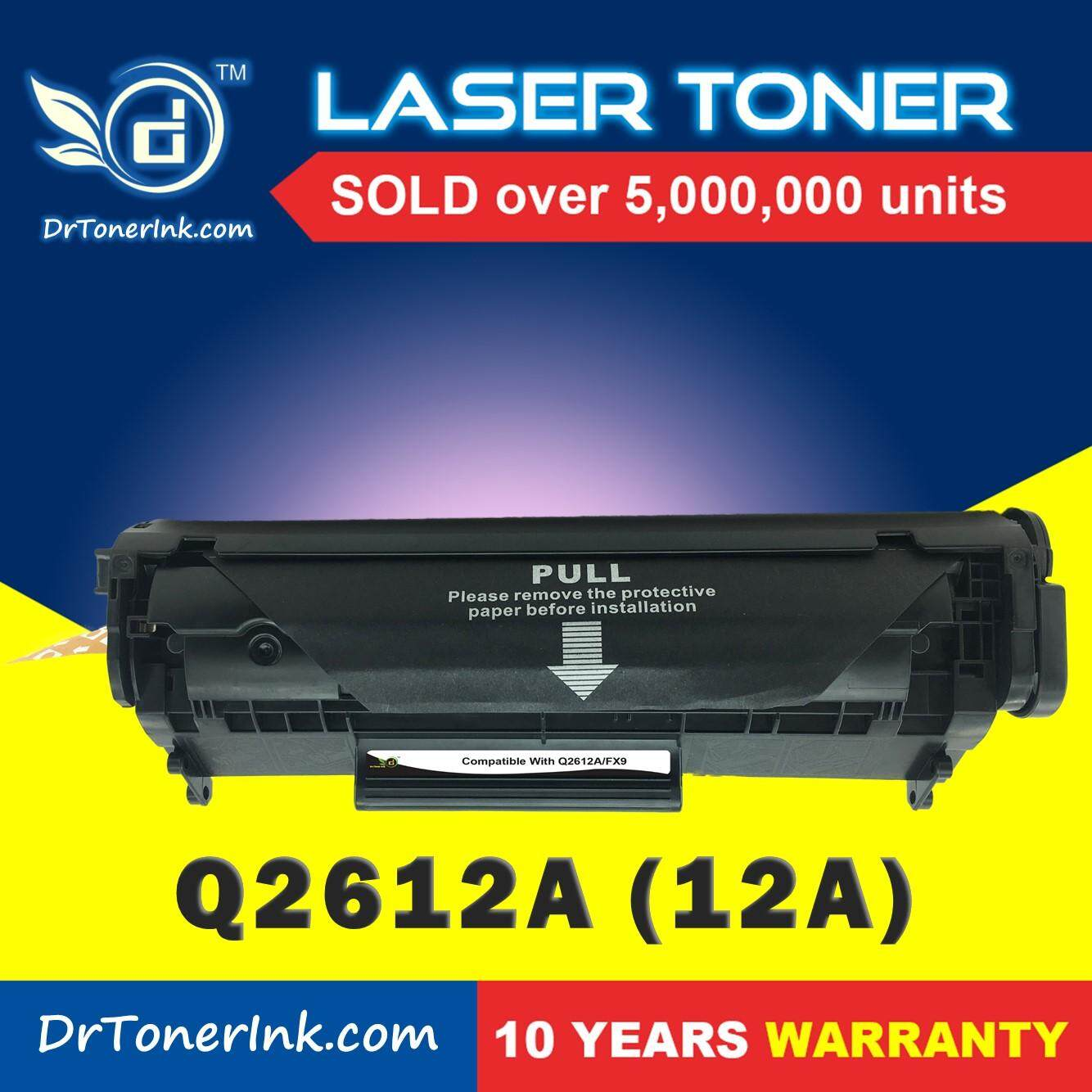 Compatible Toner Drtoner Hp - Q2612a / 2612 / 12a (mono/black) - Laserjet 1010 / 1015 / 1020 / 1022 / 1022n / 1022nw / 3020 / 3030 / 3050 / 3050z / 3052 / 3055 / M1005 / M1319f - Low Cost & Affordable By Drtonerink.com.