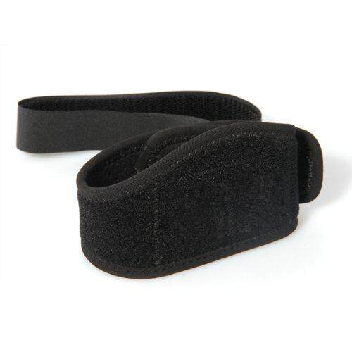 Sports Leg Knee Patella Support Brace Wrap Protector Pad Band Black