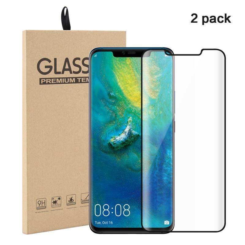 View Product · Happon For 2 Pack Huawei Mate 20 Pro Curved Tempered Glass Screen Protector Film Anti-