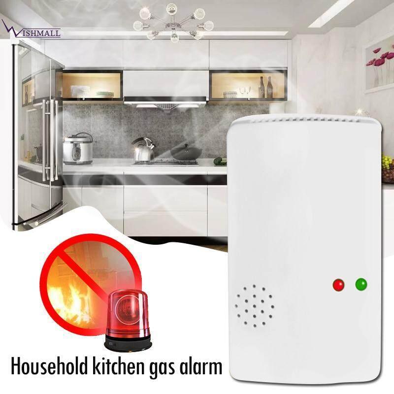 Wishmall Gas Leakage Alarm Gas Detectors Gas Alarm Sensor 85db 433 MHZ Premium