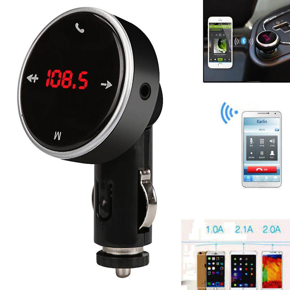 Wireless Bluetooth Lcd Mp3 Player Car Kit Sd Mmc Usb Fm Transmitter Modulator Planiesty By Planiesty.
