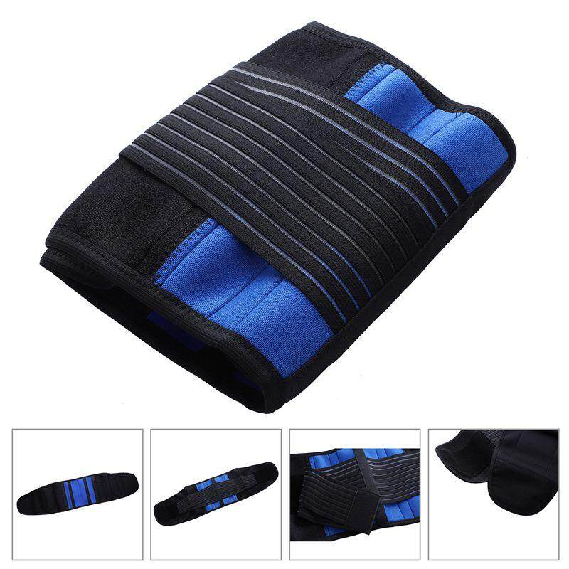 Adjustable Neoprene Double Pull Lumbar Support Lower Back Belt Brace Pain Relief, Xxl By Happyang.