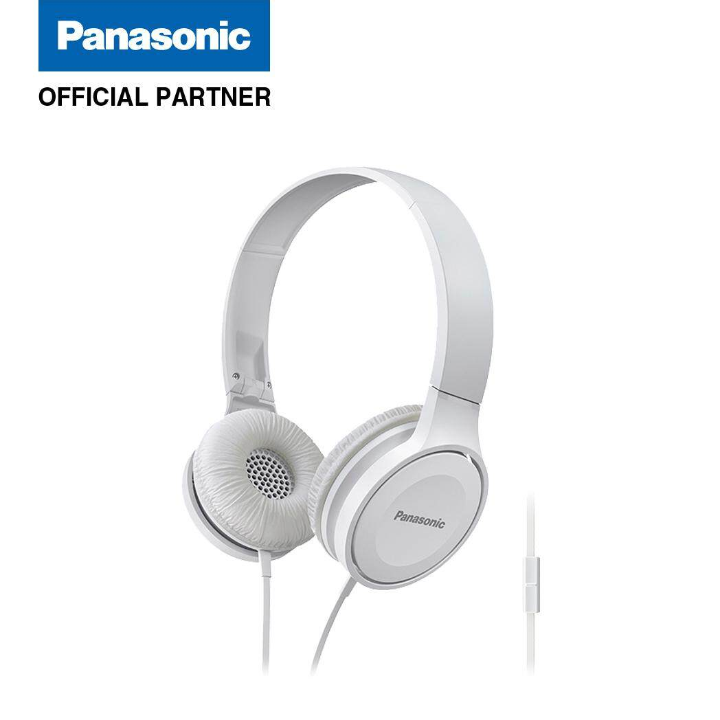 Panasonic RP HF100M Street Headphones Black White Blue .
