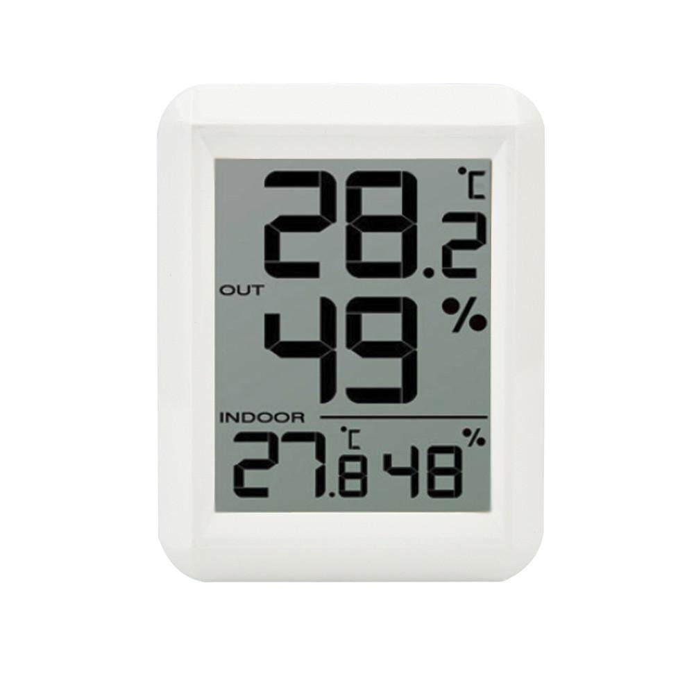 TOMATOLL Wireless Thermometer 10% - 99% Hygrometer LCD Digital Temperature Humidity Meter