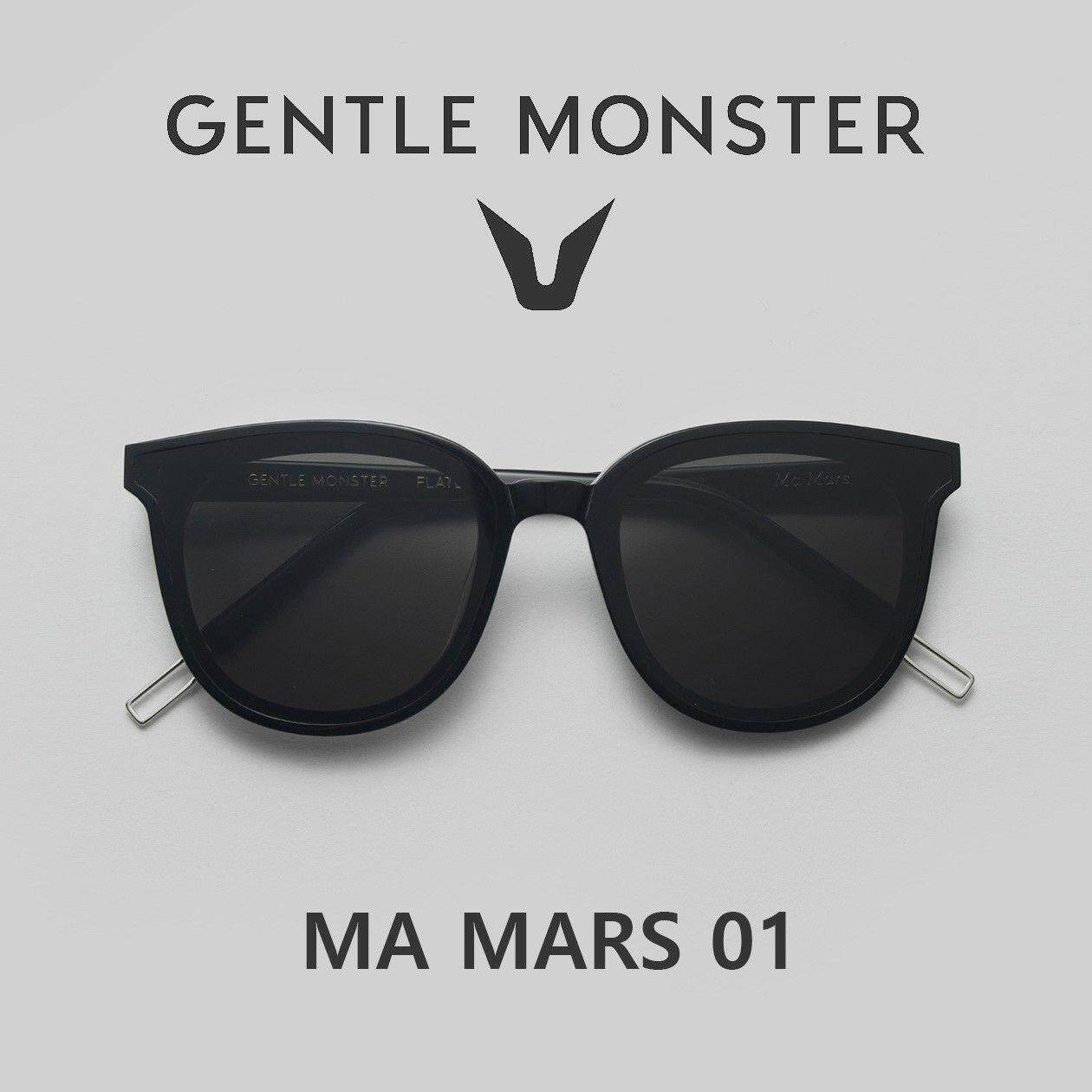 8412a3eee04 Gentle Monster Ma Mars 01 Black Sunglasses Korea Sunglass eyeglasses lens  glasses Malaysia