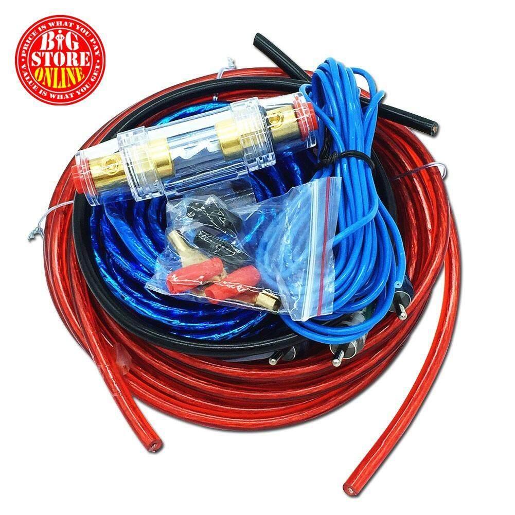 best amplifier wiring kits