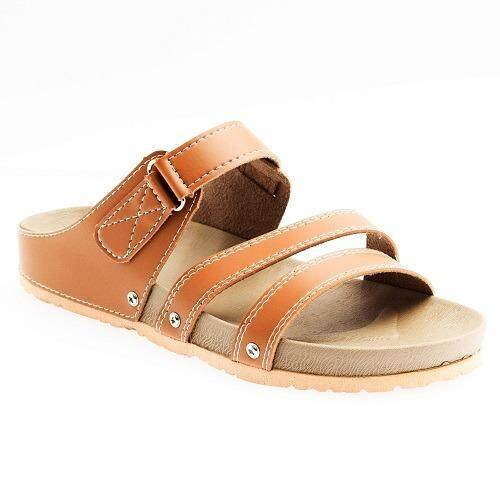 WOMEN FASHION COMFORD SLIP-ON SLIPPERS FLAT SANDALS R9562