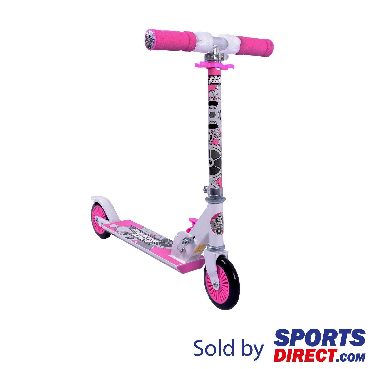 No Fear Kids Scooter (black/pink) By Sports Direct Mst Sdn Bhd.