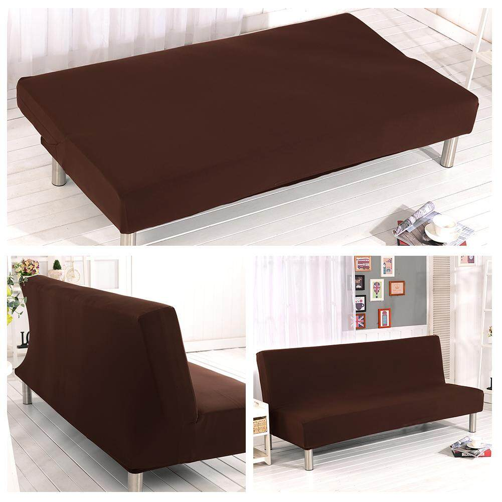 Brilliant Ryt Solid Color Detachable All Inclusive Folding Stretch Sofa Bed Sofa Cover Protector Slipcover Without Armrests 1 Seater Gmtry Best Dining Table And Chair Ideas Images Gmtryco