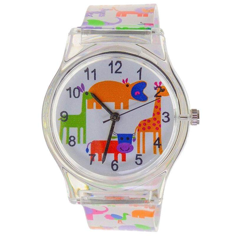 WILLIS Analog Quartz Girls Watch Waterproof Animal Designer Kids Watch Learning Time #304006 Malaysia