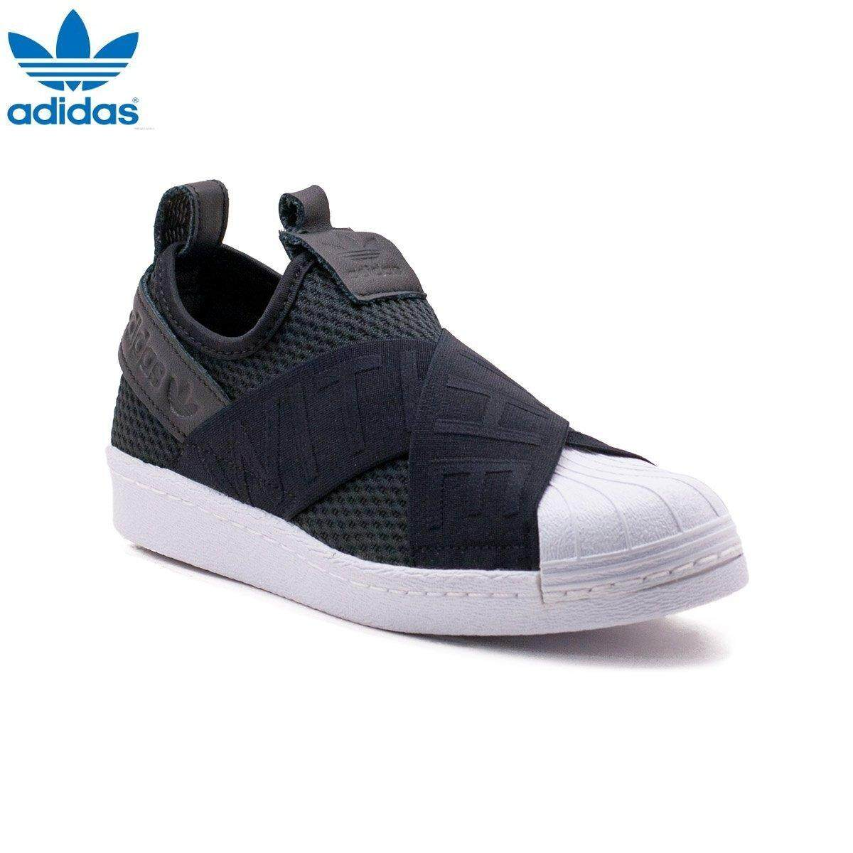 check out ee7ff 8a8db Adidas New Originals Superstar Slip-on CQ2382 (Black) Shoes