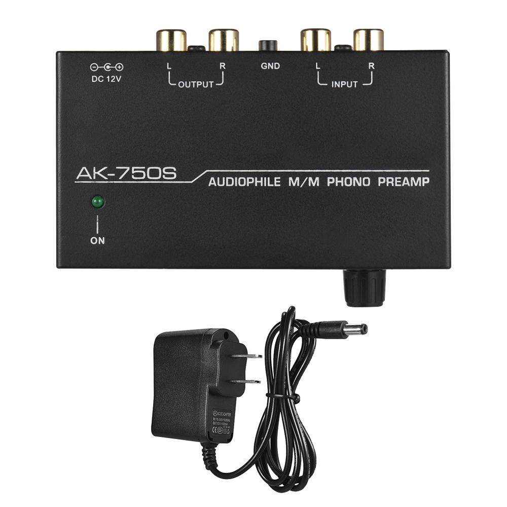 Audiophile M/m Phono Preamp Preamplifier With Level Controls Rca Input & Output Interfaces By Electronic Top.