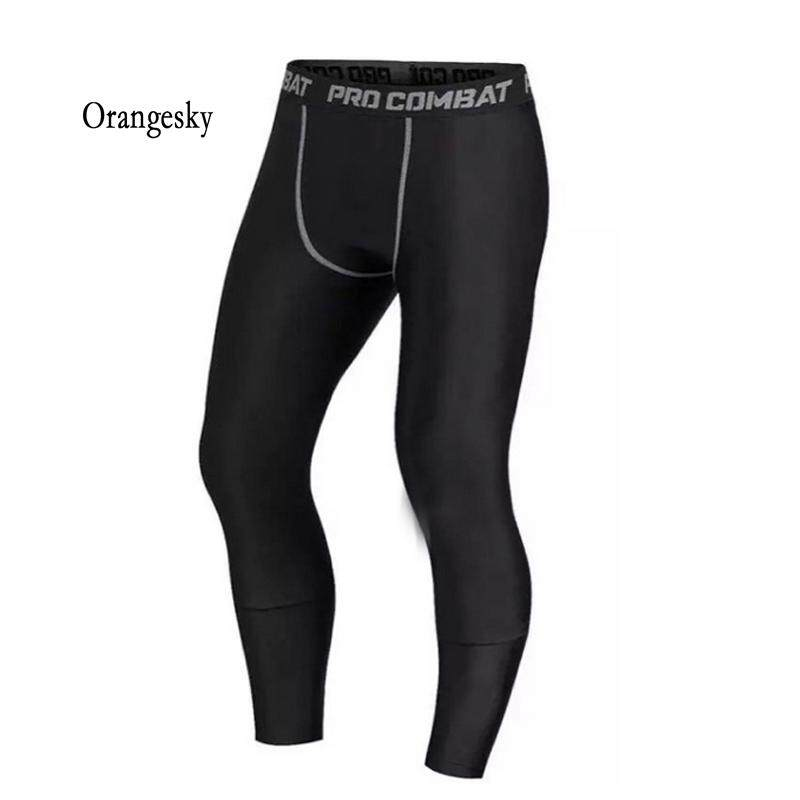 d01a809745 Orangesky Men Compression Pants Gym Fitness Sports Running Leggings Tights  Quick-drying Fit Training Jogging