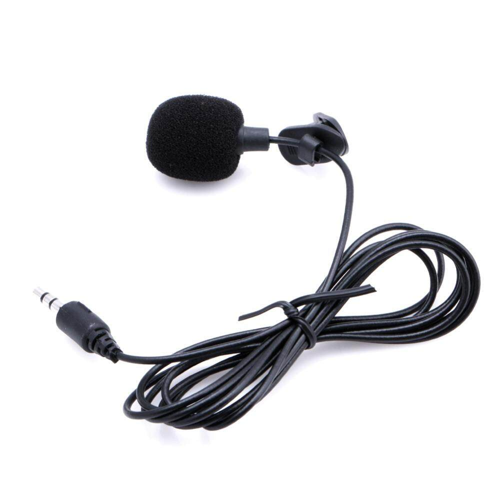Universal 3.5mm Jack Mini Clip-On Lapel Lavalier Microphone Mic Speech Hands-Free For Smartphones Pc Laptop ((when You Need To Use It On Your Phone, You Need To Connect The 3.5mm Audio Jack To The Headset And Microphone U Splitter Adapter Adapter To Use)) By Bilion It World.