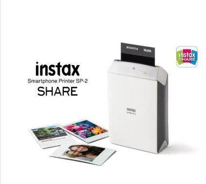 Fujifilm Instax Share Smartphone Printer Sp-2 (silver) By Camera & Gadget.