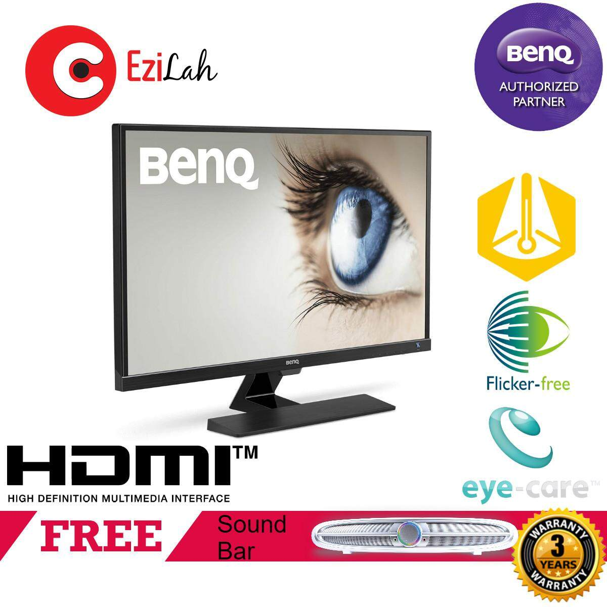 BenQ 32 EW3270ZL 2K WQHD Video Enjoyment LED Monitor Malaysia